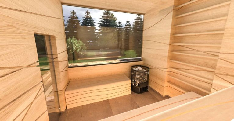 WORKOUT SAUNA od CARETTA SPA